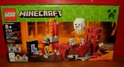 New 2015 Minecraft Lego Set The Nether Fortress 21122 Zombie Pigman Ghast Figure