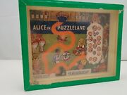 Vintage Alice In Puzzleland - Rj Series Popular Puzzles R. Journet And Co London