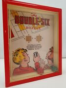 The Double Six - Rj Series Popular Puzzles R. Journet And Co London