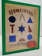 The Geometrical - Rj Series Popular Puzzles R. Journet And Co London
