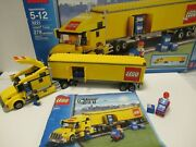Lego City 3221 Truck Complete Set W/box And Instructions 278 Pieces Discontinued