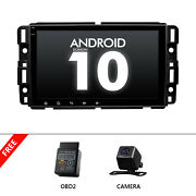 Obd+cam+fit Chevy Gmc Truck Android 2din Bluetooth Usb Gps Radio Stereo 8 Ips