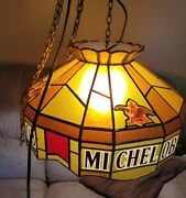 Vintage Michelob Light Poker Table Light. Very Old