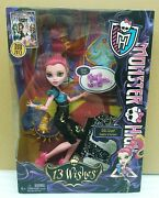 Monster High 13 Wishes Gigi Grant Daughter Of The Genie Doll By Mattel Nib