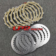 Clutch Friction Steel Plates Discs Kit For Honda Cb500t 1974 1975 1976 1977