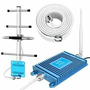 Verizon, Att 4g Phone Signal Booster Lte 700mhz Band 13/12/17 Dual Bands Cell Si