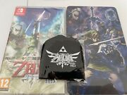 Skyward Sword Hd For Nintendo Switch + Brand New Sealed + Steelbook And Keyring