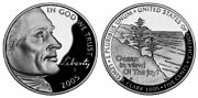 250 Jefferson Nickels 2005-p Uncirculated Ocean View From World Reserve