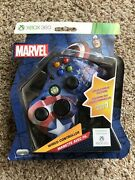 Marvel Captain America Series 1 Wired Controller - Xbox 360 , Brand New , Rare