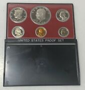 Us Coins Proof Set Bicentennial Edition 1776-1976 In Plastic Case