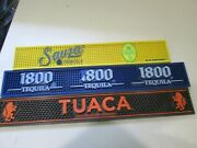3 Different Bar Mats Sauza Tuaca And 1800 Tequila Nice Clean Condition Spill Mat