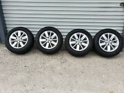 Four 2015 To 2019 Volkswagen Golf Painted 15 Inch Oem Wheel And 195/65/15 Tires