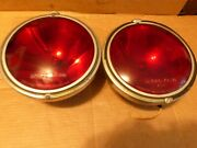 Trippe Beam Red Speed Light Police Fire Chevy Ford Buick 1933 1939 1946 Vintage