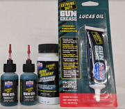 Lucas Oil Gun Rifle Cleaning Oil Kit Bundle With Grease, Oil And Bore Solvent Clea
