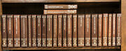 Classics Of The Old West Time Life 24 Book Set W/ Notes And Bookplates Leather