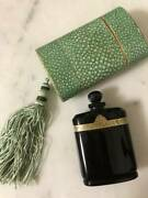 Vintage Perfume Bottle Caron Nui De Noel Nuit Made In Baccarat With Case