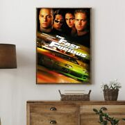 The Fast And The Furious Movie Poster Wall Decor Poster No Framed