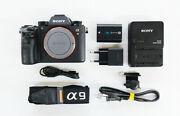 Sony A9 Full Frame Mirrorless Interchangeable-lens Camera Ilce9/b- Mint