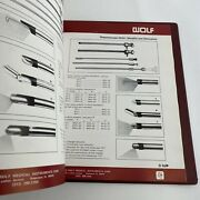 Vintage Medical Book Catalog Wolf Endoscopes Instruments Supplies 1976 Prices