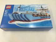Mint New Sealed Lego City 10155 Maersk Line Container Ship Discontinued