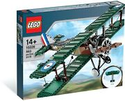Lego Creator Sopwith Camel 10226 New Sealed Mint Discontinued