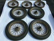Mgtc Wire Wheel 19 7 Wheels 4 With Tires