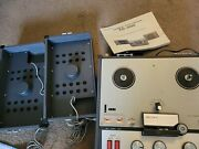 Sony Tc-200 Stereo Tapecorder Reel To Reel Tape Deck Working And Very Clean