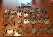 Vintage Lot Of 30 Rr And Other Locks 20and039s - 60and039s No Keys Adlake Lancaster Pa More