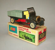Old Vtg 1960s Deadstock Antique Delivery Truck Friction Tin Toy Japan Mib Shioji