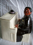 A Little Company Fats The Piano Man Cookie Jar Limited Edition