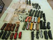 Lionel Lot O Gauge Engines, Passenger Cars, Tankers, Misc. Parts/repairs