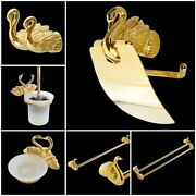 Swan Style Bathroom Decorations Holder Zinc Alloy Material Household Accessories