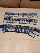 Magic The Gathering Large Blue Lot Mythic And Rare. Vf To Nm. Alot Of Cards New.