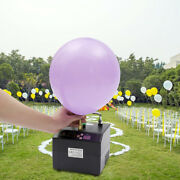 Portable Electric Balloon Pump Timing Single Nozzle Air Blower Inflator Party