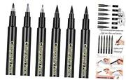 Caligraphy Pen Kits For Beginners - 6 Pack Calligraphy Pens, Modern Caligraphy