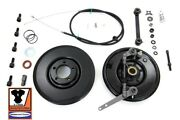 V-twin Backing Plate, Brake Drum, Anchor Arm And Cable Kit Knucklehead 4-speed Ohv