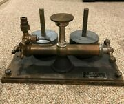 Vintage Ashcroft Type 1300 Dead Weight Gauge Tester Complete With 4 Weights