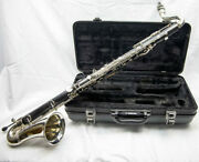 Ycl-221 Ii Yamaha Bass Clarinet Student Model Excellent Condition