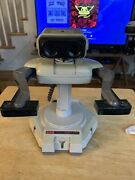 Nintendo Nes Rob The Robot Robotic Operating Buddy For Parts Turns On Moves Read