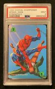1995 Marvel Overpower Spider-man Strength 2 Psa 9 Flawless Card Re-sub