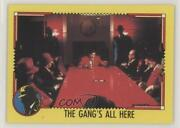 1990 Topps Dick Tracy The Gangand039s All Here 47 1u6