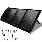 Authorized Dealer - Rockpals 60w Waterproof Portable Solar Panel With Stand