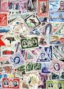Monaco Collectables Of 25 In 2500 Stamps Different
