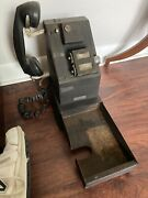 Antique National Cash Register Credit Stamping Machine As Is Or Restore