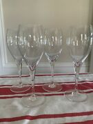 Baccarat St Remy Water Goblets Set Of 4