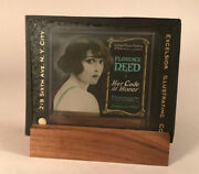 Antique Movie Ad Cell, Glass. Produced By Exelsior Illustrating Co., Ny City