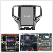 12.1 Android 9.0 Vertical Screen Gps Radio Navi 4+32gb For Dodge Ram 2018-2020