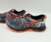 Asics Gel Sonoma 5 Ortholite Black And Metropolis Red Running Shoes Womenand039s Size 6