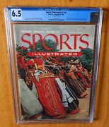 Sports Illustrated 1954 Second Issue 2 Newsstand Cgc 6.5 Exclusive Mantle Card