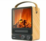 Kuppet Portable Space Heater, Energy Efficient Indoor Electric Fireplace